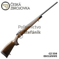 CZ 550 Exclusive Ebony Edition .30-06 Sprg.