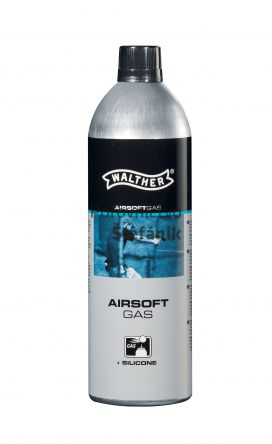 Walther Airsoftový plyn 500ml + silikon